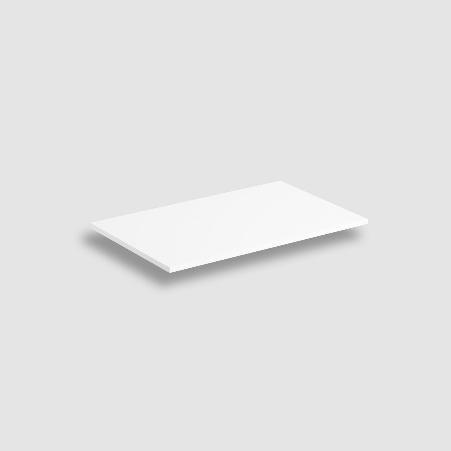 (New) Wash Me Frame inleg planchet 70 cm, mat wit aluite)