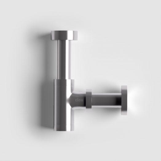 Mini Suk designsifon, rvs geborst. speciaal voor fonteintjes)