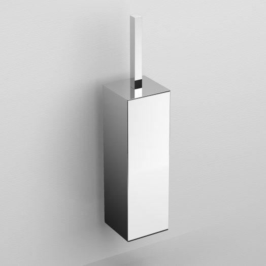 Quadria toiletborstelgarnituur, wandmodel, chroom)