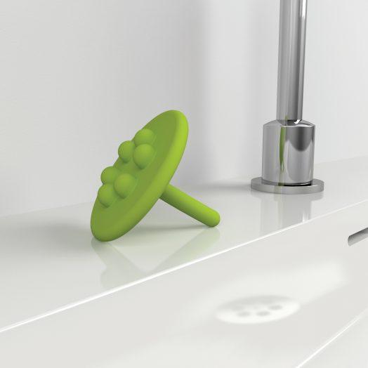 Wash Me waterstop, groen siliconen)